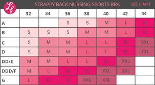 Strappy Back Nursing Sports Bra Black