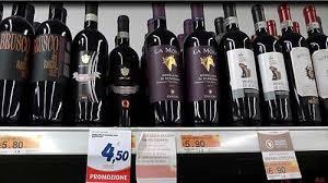 Итальянское вино Цена на вино в Италии