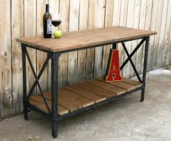 Metal And Wood Kitchen Table Vintage Industrial Dining Room Table Orginally Urban Industrial