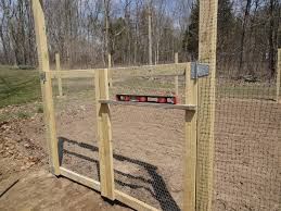 wire fence gate. Getting Ready Garden Build Fence Gate Your Wire A
