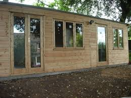 outside office shed. a recently installed garden office in devon by sheds direct limited outside shed