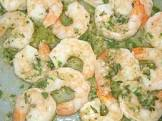broiled mexican style shrimp with garlic and limes