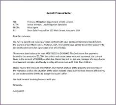 Sample Proposal Ideas Of Business Letter Examples With Additional