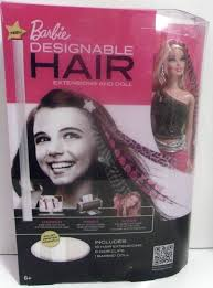Barbie Com Designable Hair Details About Barbie Doll And 16 Designable Hair Extensions
