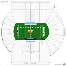 Michigan St Football Club Seating At Spartan Stadium