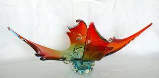 Vintage Rare LORRAINE Glass Industries Chalet Canada 3 Color Centrepiece  Label | Chalet glass, Glass, Lorraine