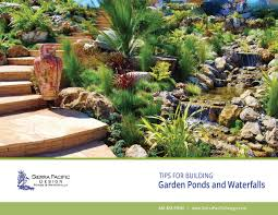 tips for pond building and waterfall design