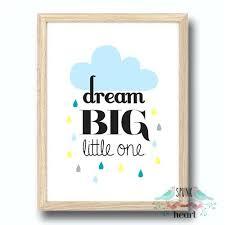 dream big little one wall art print baby nursery kid spunk and dream big little one on target childrens wall art with kid wall art leesytho