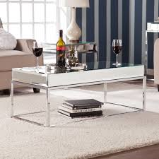 mirrored coffee table. Harper Blvd Adelie Mirrored Coffee/ Cocktail Table Coffee T