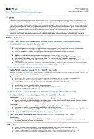 Closing Job Opportunities (Cutting edge project manager resume)