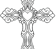 Free Printable Coloring Pages For Adults Designs Knot Jesus On The