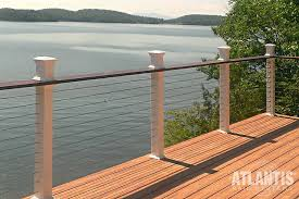 cable deck railing raileasy photo gallery atlantis rail systems cable deck railing n61