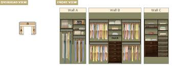 Small Picture Popular Closet Designs EasyClosets