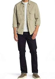 HUDSON Byron Straight Stretch Jeans at Amazon Men's Clothing store