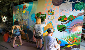msu art students create mural for east lansing