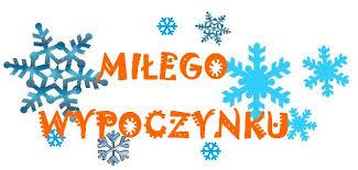 Znalezione obrazy dla zapytania ferie zimowe- obrazek