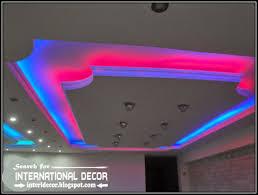led ceiling lights led strip lighting gypsum false ceiling