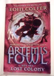 book review artemis fowl and the lost colony