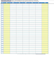 excel work log template 17 perfect daily work schedule templates template lab