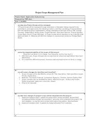 Project Plan Document Template Manager Transition Example