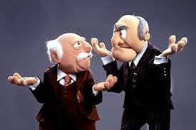 Image result for muppets old man characters