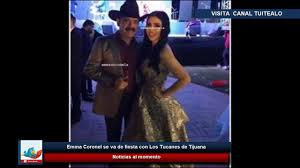 Emma Coronel se va de fiesta con Los Tucanes de Tijuana - YouTube