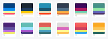 While they are good color palettes, they are not flexible enough to present  complex data series.