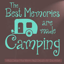 Quote Art Magnificent Best Memories Made Camping Quotes Vinyl Lettering Art Wall Sticker