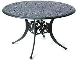 48 inch round patio table inch round patio table by luxury cast aluminum patio furniture round