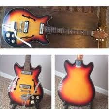 telestar teisco hollowbody 335 style vintage 60s international new project teisco del ray ep 8t hollow body check it out at eagle