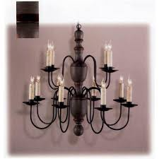 country traditions grey and cinnamon mount holly wood chandelier