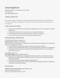 Resume For Office Manager Position Sample Cover Letter And Resume For A Recruiter