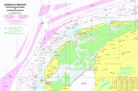 18111 Overzichtskaart Waddenzee Westeli Marine Chart