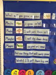 Harvest Theme Pocket Chart Spcp My Classroom Pre