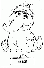 Sesame Street Coloring Pages Fantastic Grover Birthday Numbers Free
