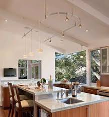 vaulted ceiling kitchen lighting. Monorail In Vaulted Ceiling Kitchen. The Kitchen Kitchen Lighting S