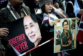 ผลการค้นหารูปภาพสำหรับ Myanmar Rohingya: Suu Kyi rejects genocide claims at UN court
