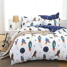 boys full size bedding sets cotton home textile boys galaxy space bedding set kids bedding sheet boys full size bedding