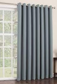 sliding glass door curtains