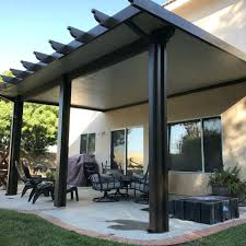 patio cover kit for insulated roofed patio cover kit 16 diy wood patio cover kits