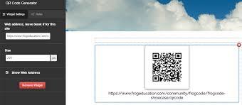 Google Charts Api For Qr Code Generator Qr Code Frogcode Widget Showcase Frog Community Forums