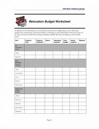Moving Expenses Spreadsheet Template Budget Columbiaconnections Org ...