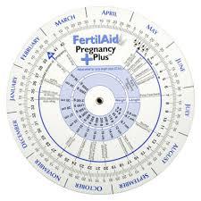 Ovulation And Pregnancy Calendar Wheel