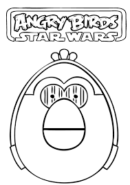 Small Picture Angry Birds Star Wars Coloring Pages Free Printable Coloring