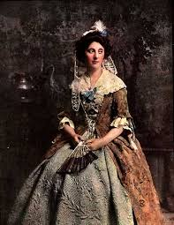 best th century clothing images th century  18th century gown quilted petticoat originally called a quilt