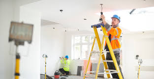 How To Install Recessed Lighting Without Attic Access How To Fish An Electric Wire Through A Ceiling Home Guides