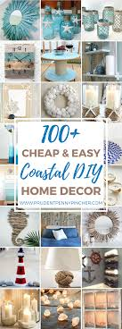 here is a round up of the best and easy coastal diy home decor projects on the internet so that you can bring some of the beach to your home
