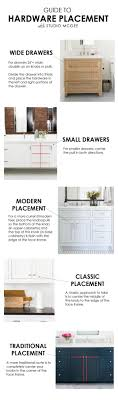 cabinet pulls placement. Guide To Hardware Placement Studio Mcgee. Mostly For Panelled Cabinet Fronts Pulls R