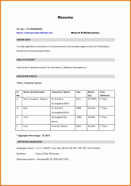 Collection Of Solutions Bsc Nursing Fresher Resume Format Awesome