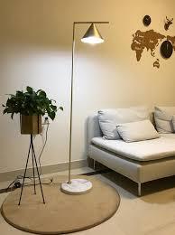 bedroom floor lamps. Brush Bronze Plated Hotel Bedroom Floor Lamp Standing Light With Shade Lamps I